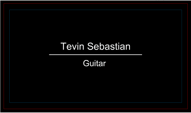 Musician Business Card 7