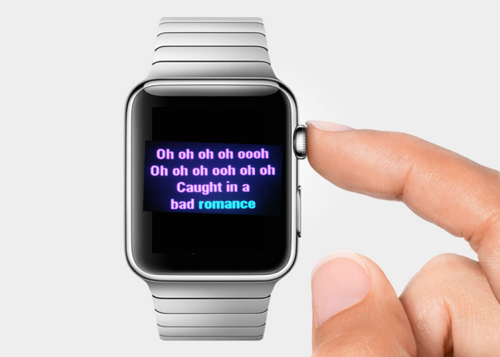 Apple Watch Karaoke