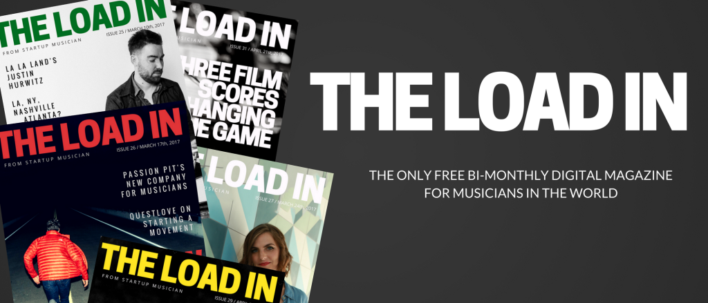 THE ONLY FREE WEEKLY DIGITAL MAGAZINE FOR PROFESSIONAL MUSICIANS IN THE WORLD