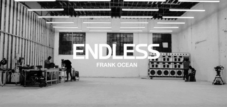 Frank Ocean's Endless is a visual album, and an Apple Music Exclusive